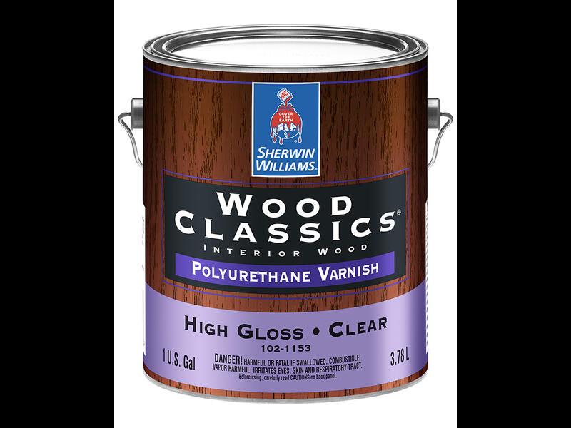 Лак на полиуретановой основе Wood Classics Polyurethane Varnish