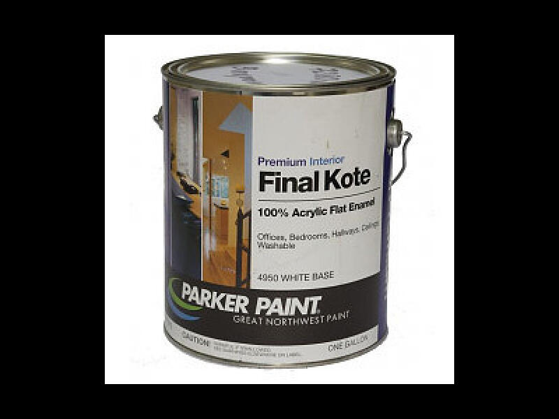 Интерьерная краска PARKER PAINT Final Kote 4950