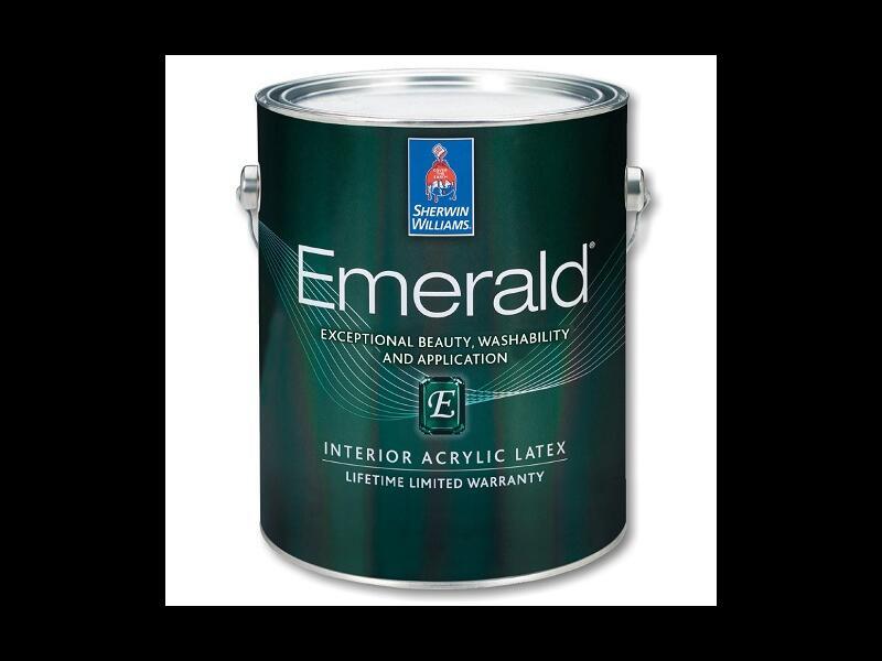 Краска Emerald Interior Acrylic Latex Paint Flat