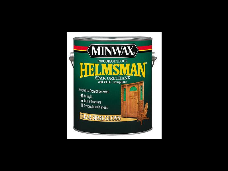 Minwax Helmsman Spar Urethane – Атмосферостойкий уретановый лак