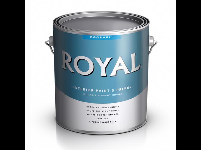 Краска для стен ACE ROYAL EGGSHELL с эффектом «яичная скорлупа»