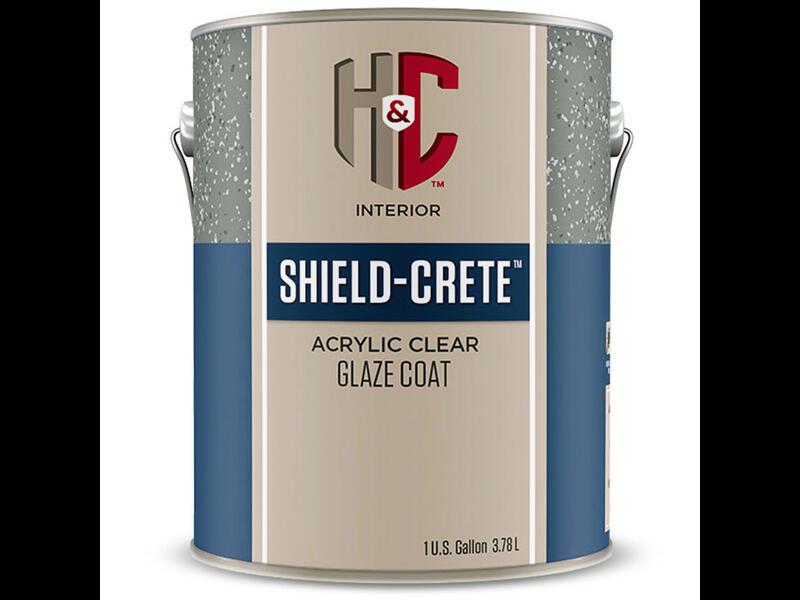 Лак для камня H&C Shield Plus Ultra Acrylic Concrete Stain