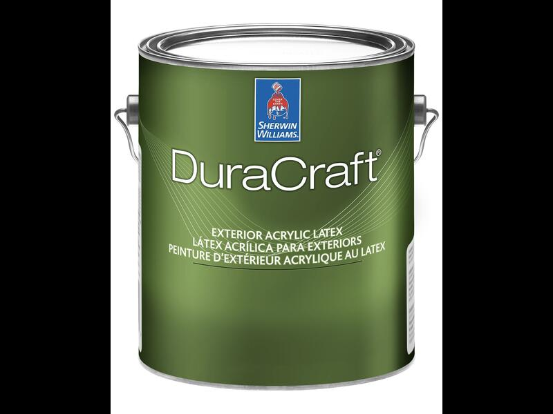 Фасадная матовая краска для дерева DuraCraft Exterior Latex Flat