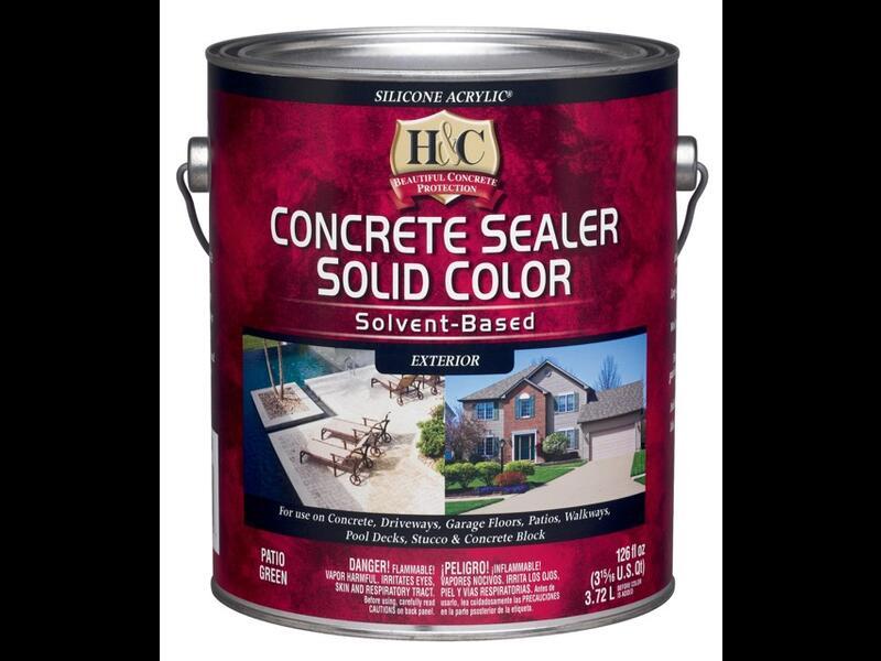 Силикон-акриловая пропитка для камня и бетона H&C Concrete Sealer Solvent Based