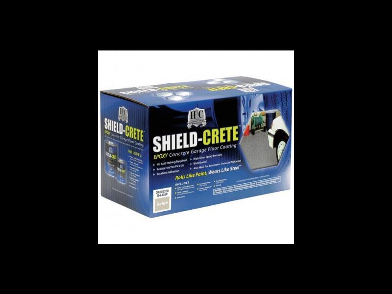 Напольное покрытие H&C SHIELD-CRETE GARAGE FLOOR EPOXY