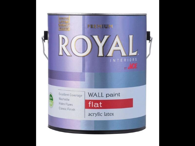 Краска для стен ACE ROYAL Flat Interior Wall Paint
