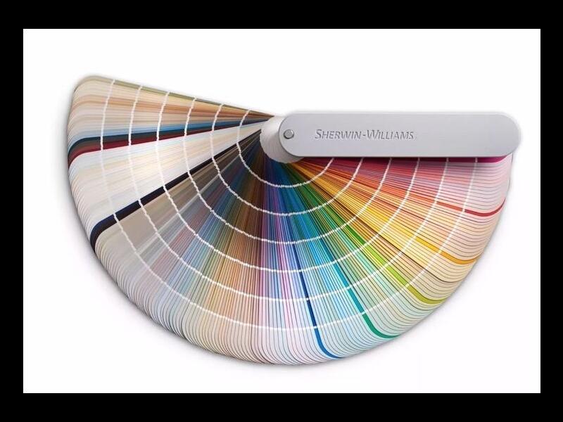 Большой веер Sherwin Williams Fan Deck Color