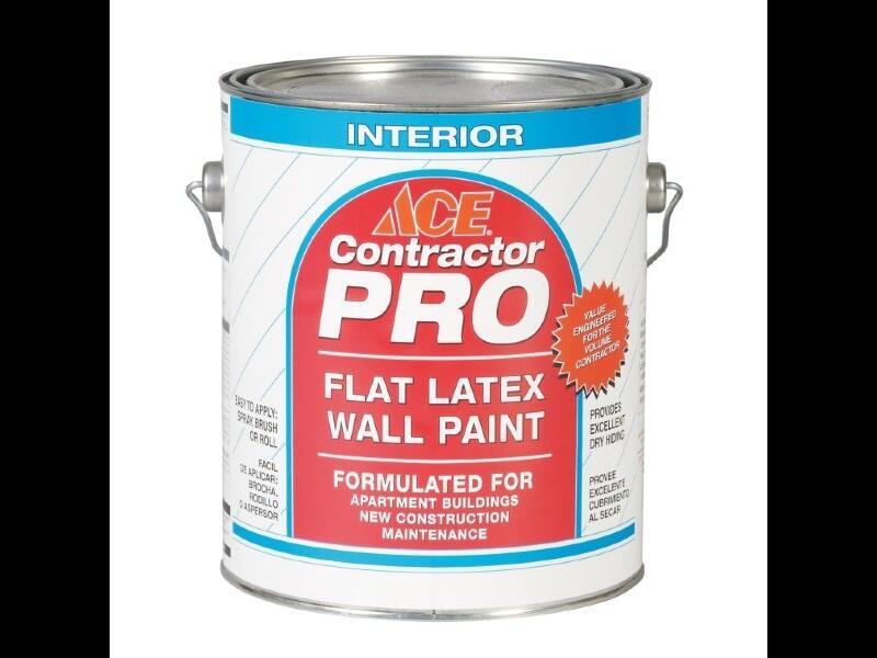 Краска для стен ACE «Contractor Pro Flat»