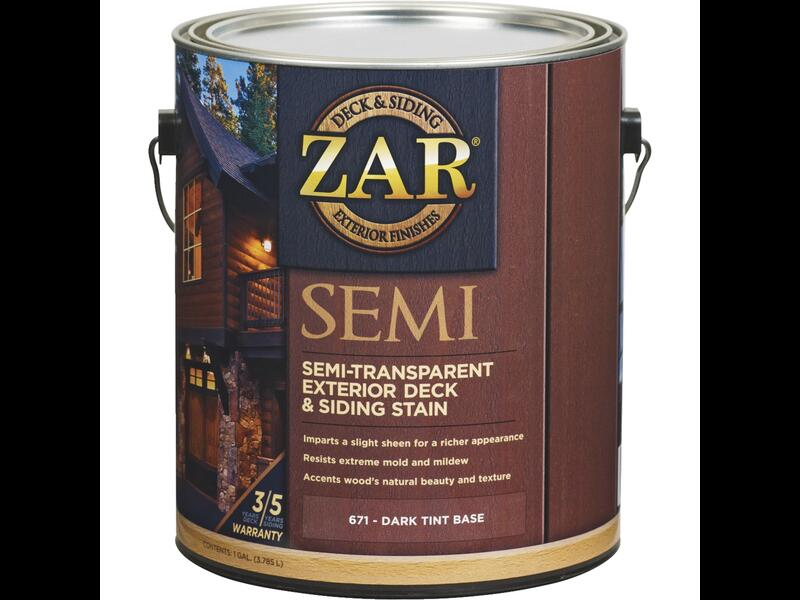 Фасадная пропитка Zar Semi-Transparant Deck and Siding