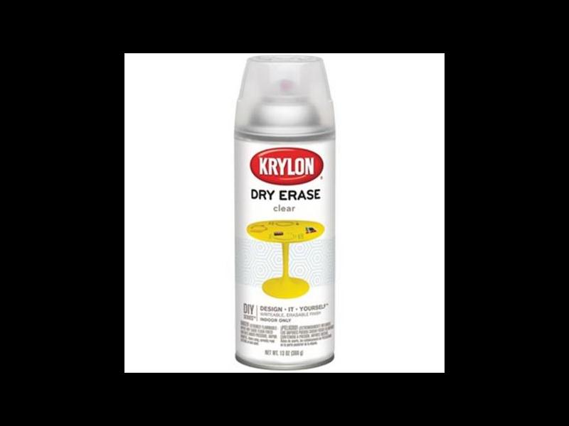 Краска аэрозольная Dry-Erase Clear spray (Прозрачный)