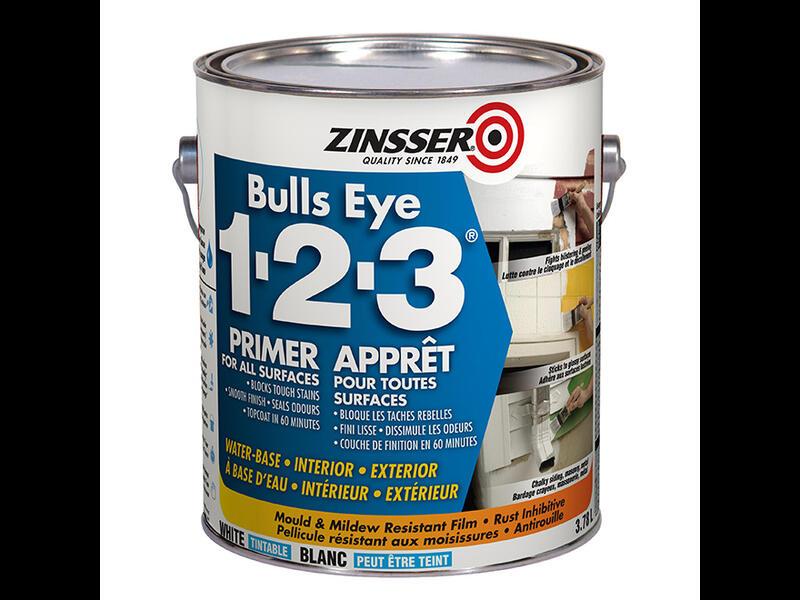 Универсальный адгезионный  грунт Zinsser Bulls Eye 1-2-3 Primer