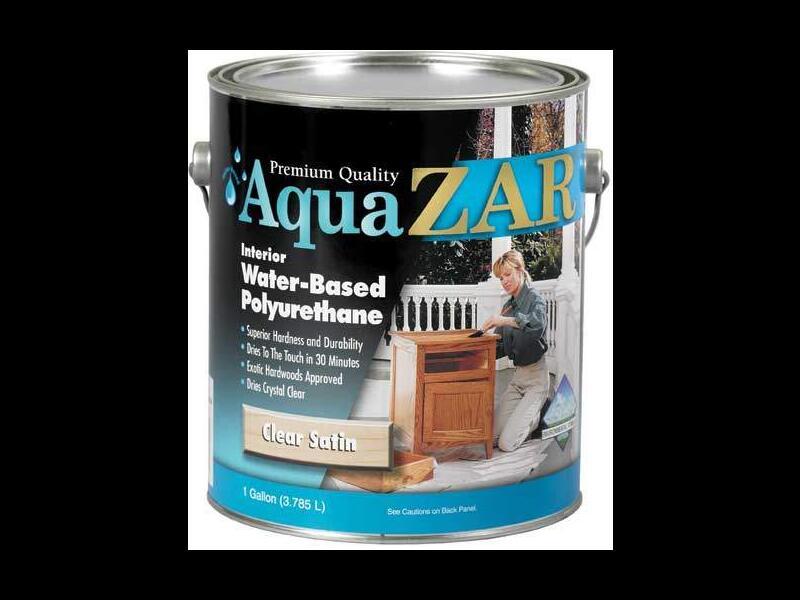 Полиуретановый лак на водной основе Zar Aqua Water-based