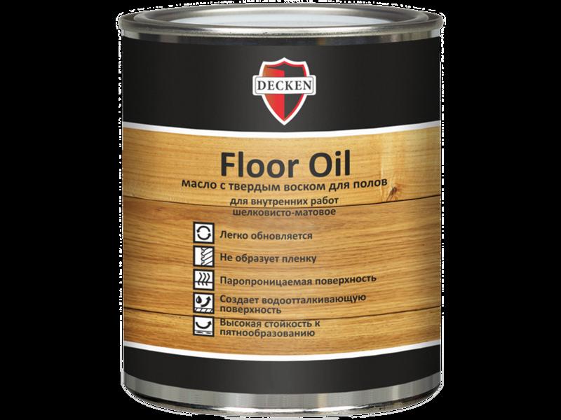 Масло-воск DECKEN Floor Oil