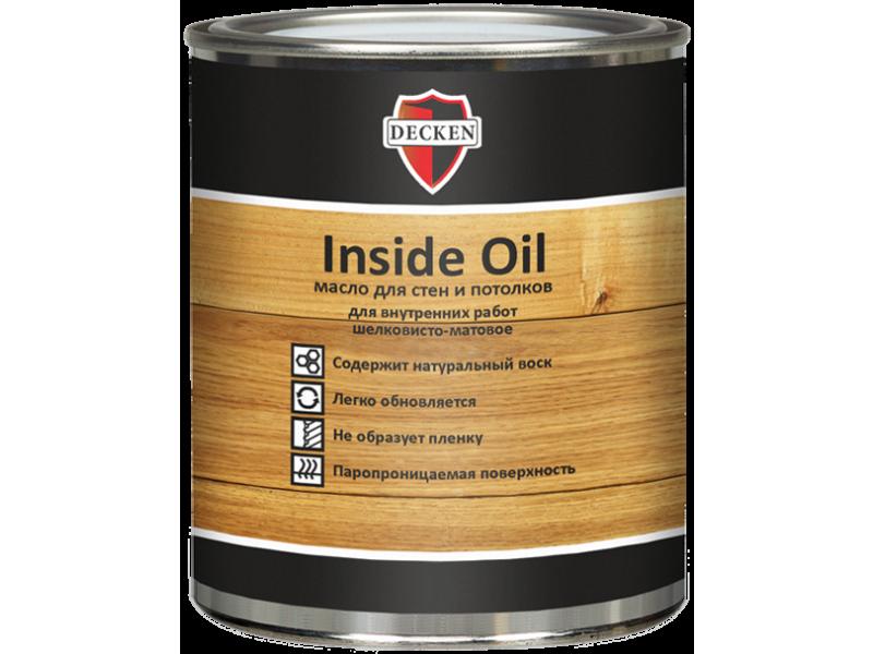 Масло для стен DECKEN Insidе Oil