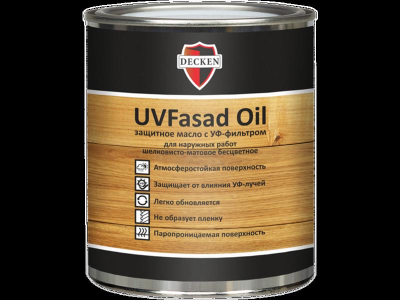 Фасадное масло DECKEN UVFasad Oil