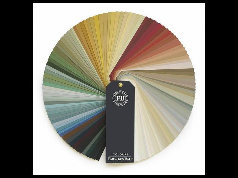 Веер «Книга Цвета»- Farrow&Ball medium colour book-2016