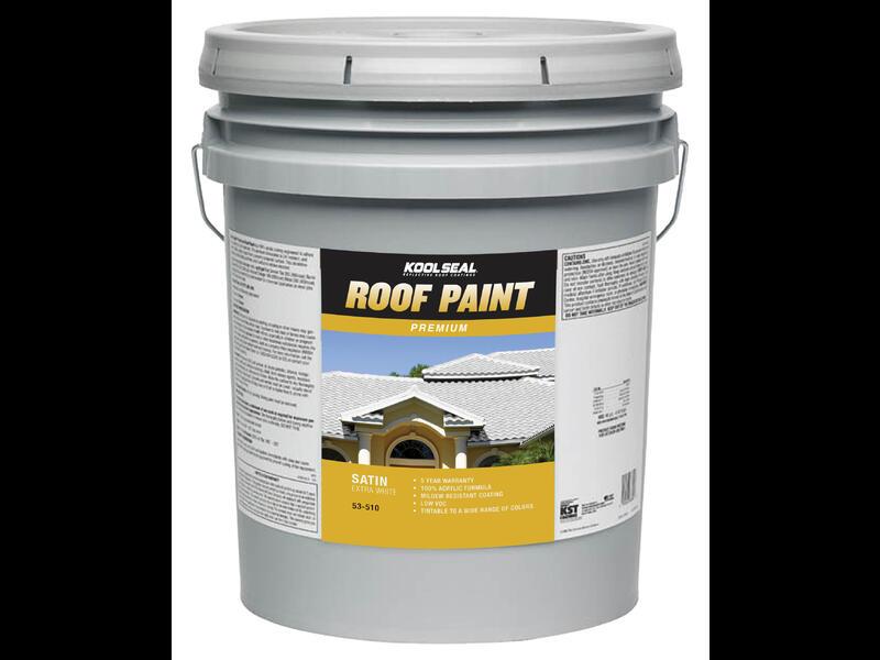 Краска для крыш KoolSeal Premium Roof Paint