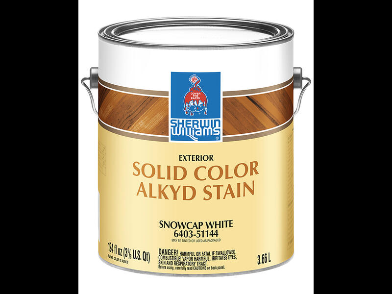 Фасадная пропитка для дерева Sherwin Williams Exterior Alkyd Solid Color Stain