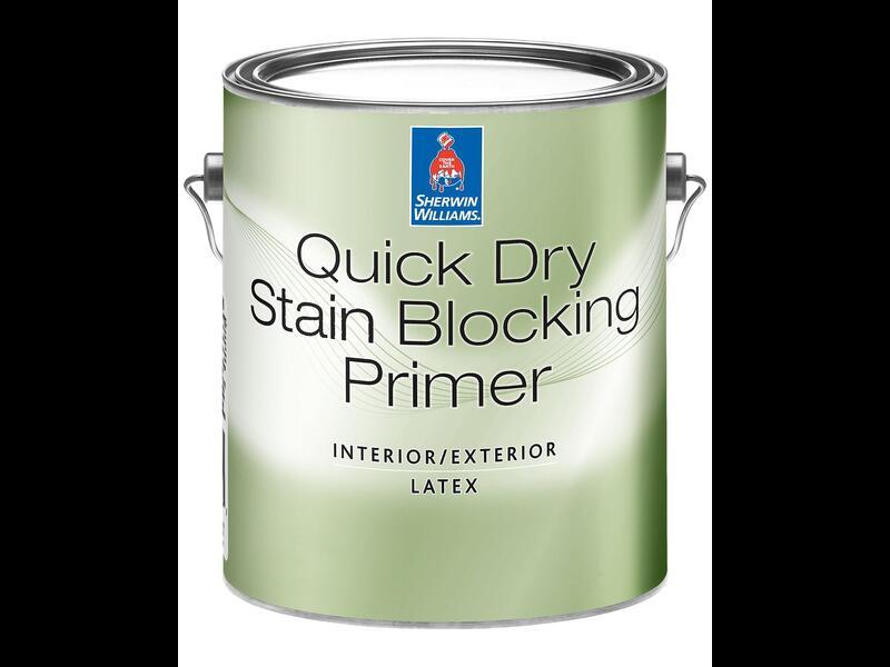 Латексная блокирующая грунтовка для внутренних / наружных работ QUICK DRY LATEX PRIMER