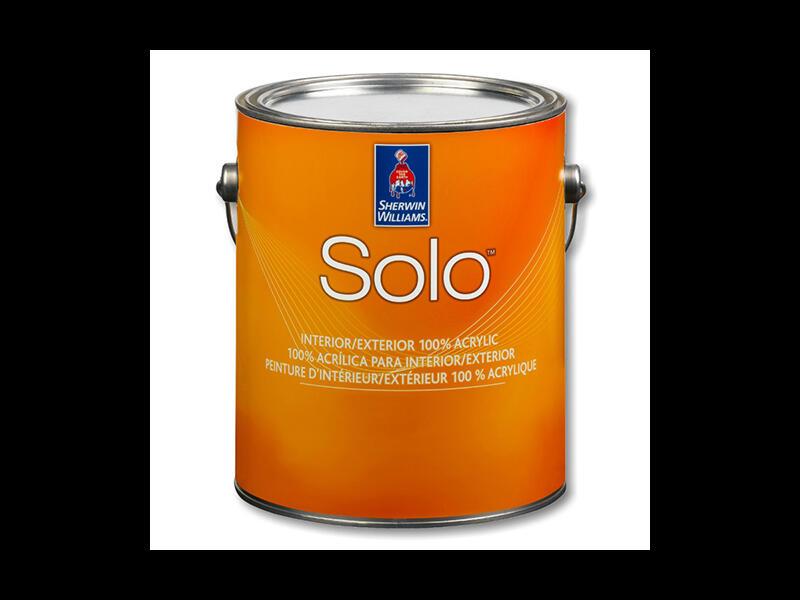 Краска для внутренних и наружных работ Solo interior / exterior