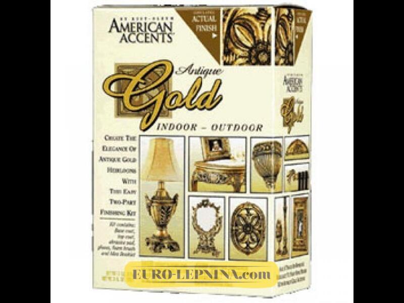 Краска декоративная American Accents Antique Эффект Античности золото