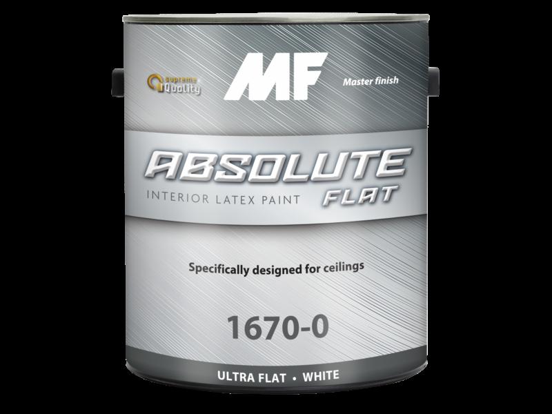 Акриловая латексная краска Absolute Flat 1670