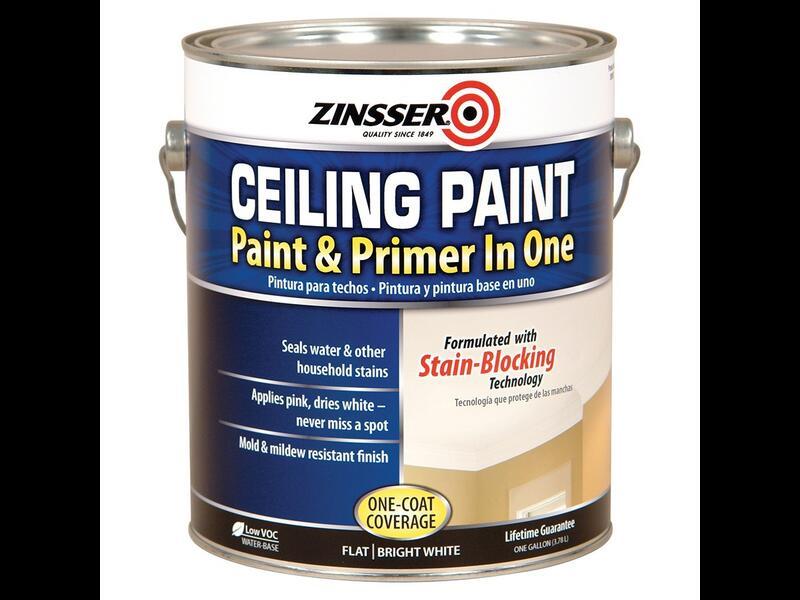 Акрил-латексная краска для потолка Zinsser