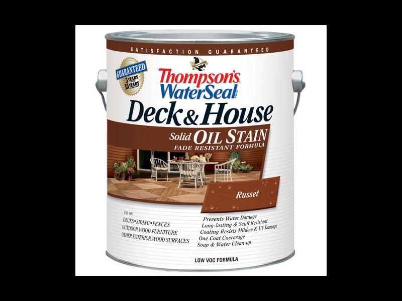 Укрывная пропитка Thompson's Deck&House Solid Oil Stain