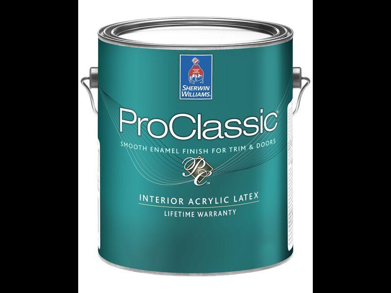 Эмаль на водной основе ProClassic Waterborne Interior Acrylic Satin