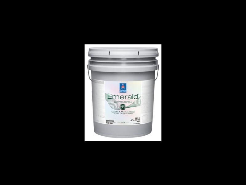 Фасадная краска для всех поверхностей Emerald Exterior Acrylic Latex Paint Satin