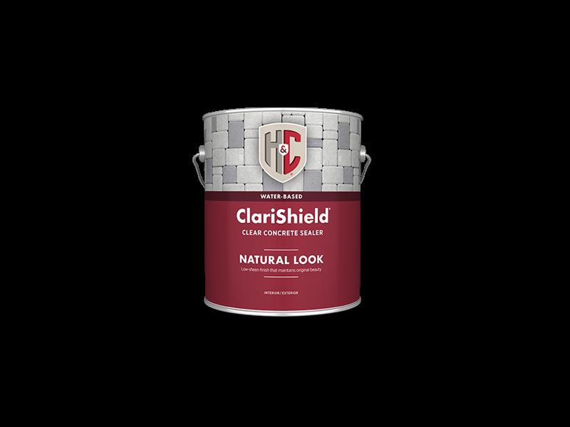 Лак для камня и бетона H&C ClariShield Water-Based Natural Look Clear Concrete Sealer