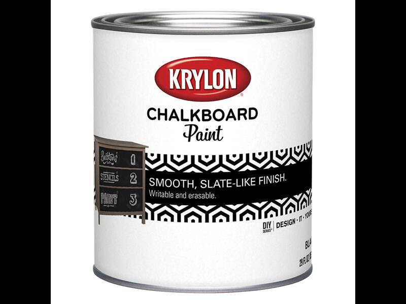 Краска с эффектом школьной доски Chalkboard paint