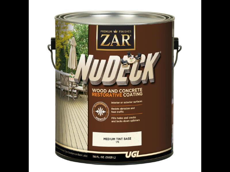 Противоскользящая восстанавливающая краска на водной основе для деревянных и бетонных поверхностей ZAR NuDeck