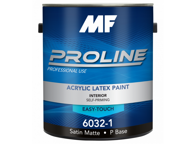 Краска для стен Proline Blue 6032 Satin Matte Finish