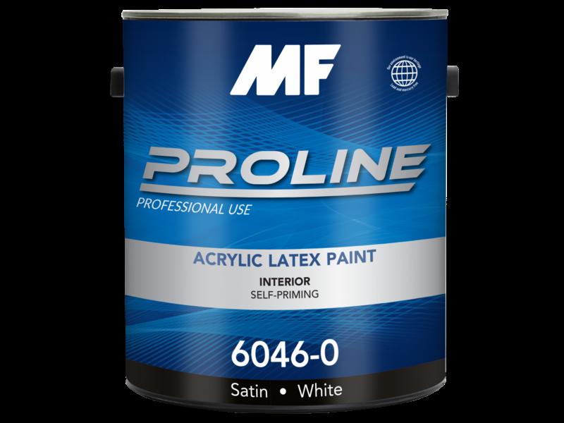 Краска для стен Proline Blue 6046 Satin Finish