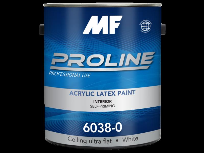 Краска для потолка Proline Blue 6038 Ultra Flat