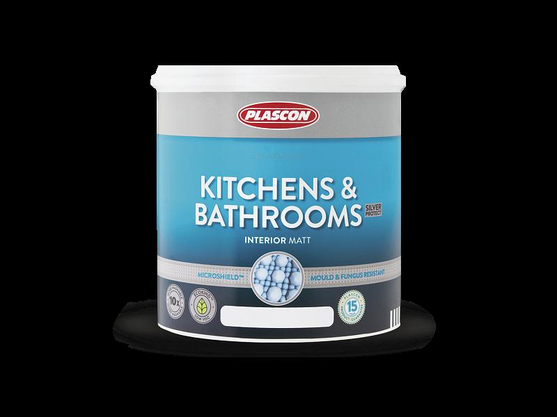 Краска для влажных помещений  KITCHENS and BATHROOMS