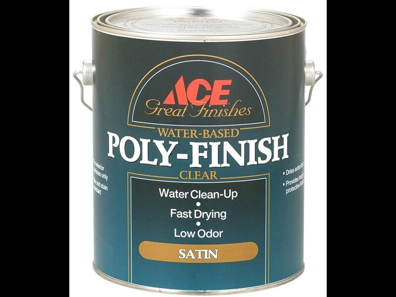 Лак на водной основе ACE Poly-Finish Great Finishes Water-Based