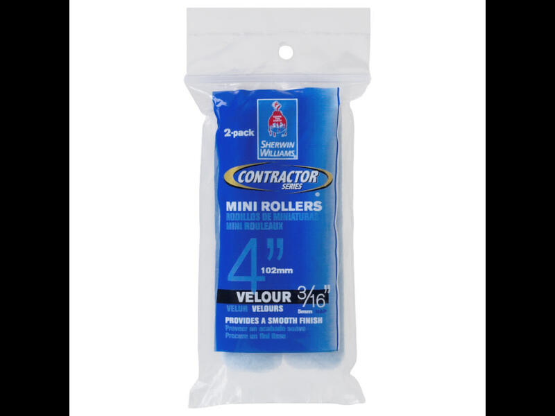 Мини-роллеры  Sherwin-Williams Contractor Series Velour Mini Rollers