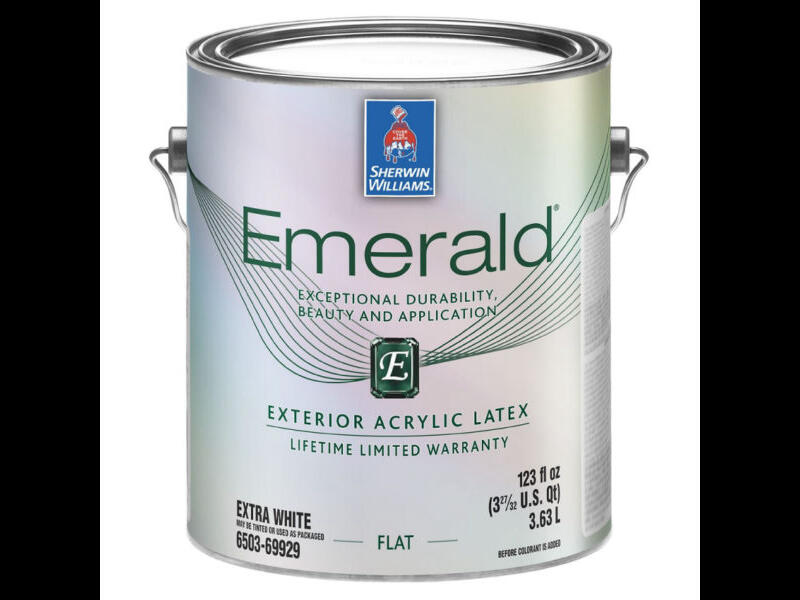 Фасадная краска Emerald Exterior Acrylic Latex Paint