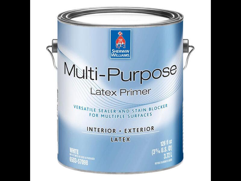 Блокирующая грунтовка для многих поверхностей Multi-Purpose Latex Primer Int/Ext